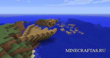 Жизнь в океане - карта для Minecraft